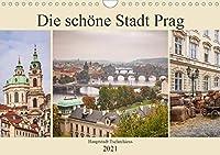 Die schoene Stadt Prag (Wandkalender 2021 DIN A4 quer): Hauptstadt Tschechiens an der Moldau (Monatskalender, 14 Seiten )