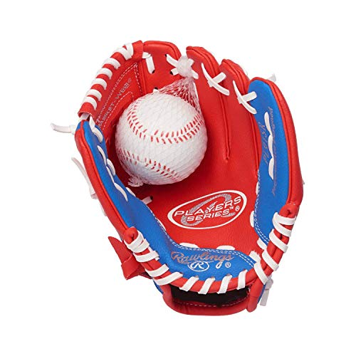 Authentic Baseball Shop Left Handers T-Ball Glove (Glove on Right Hand, Throw with Left Hand)