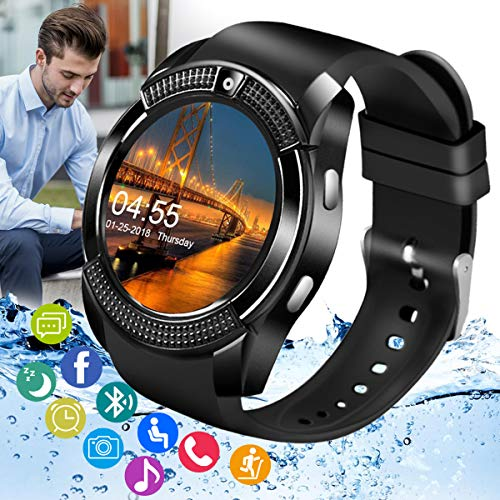 Amokeoo Smart Watch,Android Smartwatch Touch Screen...