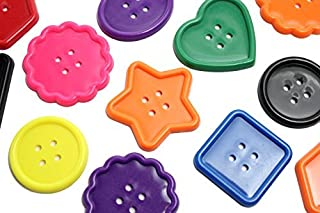 Curious Minds Busy Bags Large Plastic Button Lacing Toy - Toddler Lacing, First Lacing, OT, Jumbo Large Beads, Montessori Kids