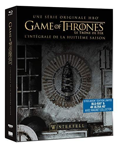 Game of Thrones - Saison 8 Steelbook Edition Limitée (Blu-ray + 4K ultra HD)