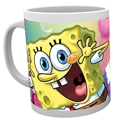 GB Eye Ltd, Spongebob, Jellyfish, Tazza