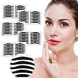 Etiqueta adhesiva para el delineador de ojos de 40 pares,maquillaje transpirable, cinta para párpados doble-Etiquetas adhesivas para párpados dobles de un solo lado Decoración grande para los ojos