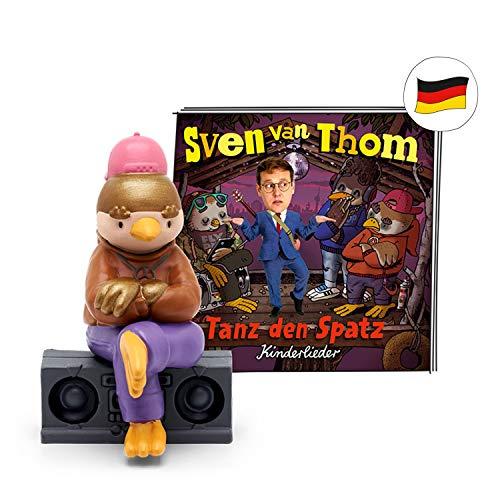 tonies Hörfiguren für Toniebox - Sven Van Thom - Tanz den Spatz - ca. 44 Min. - Ab 5 Jahre -DEUTSCH