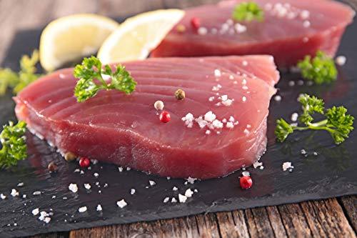 Klaassen Thunfischfilet, Thunfisch Steak, küchenfertig, vakuumiert, 500g