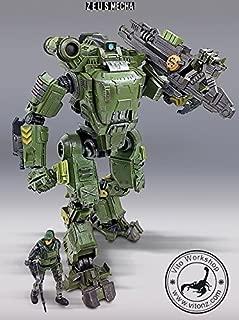 Source Mecha Movable Figure ZM0022 Zeus Macha Movable Model Toy 22cm