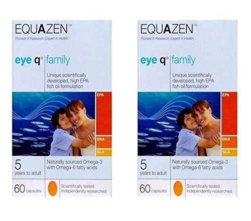 (2Pack)–Equazen Equazen Eye Q–Cápsulas | 60| 2unidades–super Saver–ahorrar...