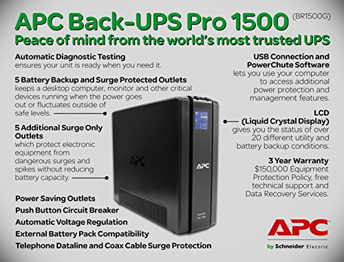 Build My PC, PC Builder, APC BR1500G