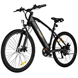 Electric Bike for Adult, Vivi Adults 26 inch Mountain Bikes 250w Motor Electric Bicycle, E-Bike for Men & Women, Professional Shimano 21 Speed Gears with 36V 8Ah Removable Lithium-Ion Battery