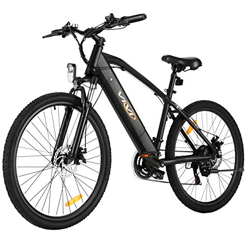 """Electric Bike for Adult, Vivi 26"""" Electric Mountain Bikes 250W/350w Motor Electric Bicycle for Adults, E-Bike for Men & Women, Professional Shimano 21 Speed Gears with Removable Lithium-Ion Battery"""