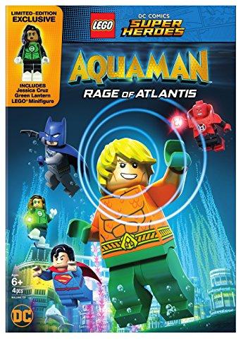 LEGO DC SUPER HEROES: AQUAMAN - RAGE OF ATLANTIS - LEGO DC SUPER HEROES: AQUAMAN - RAGE OF ATLANTIS (1 DVD)