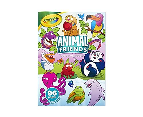 Crayola Animal Friends Coloring Boo…