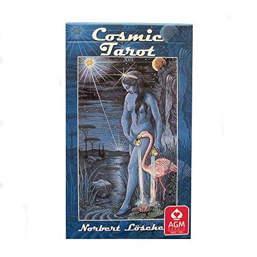 Green Cross Toad Cosmic Tarot von Norbert Losche, 78 Karten Deck Mit Englische Anweisungen