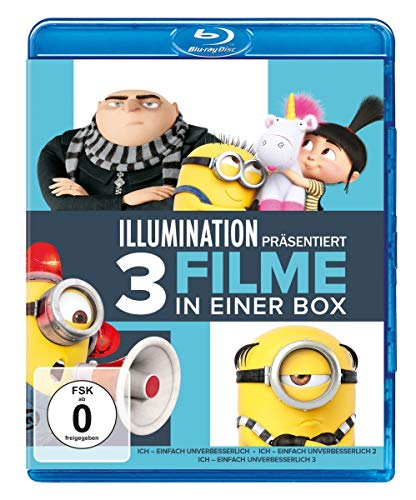 Ich - Einfach unverbesserlich 1-3 [Blu-ray]