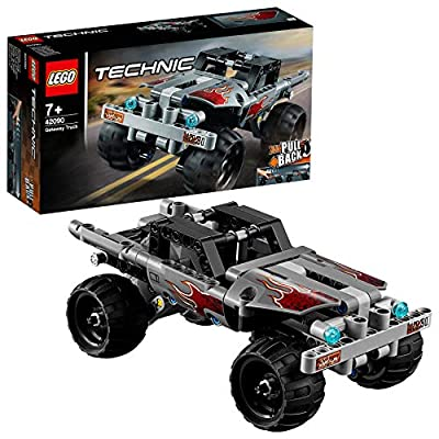 LEGO Technic 42090 Getaway Truck with Pull-Back Motor, for 7+ Years