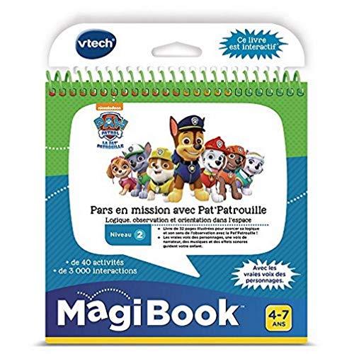 VTech - Jeu MagiBook - Pars en Mission avec La Pat'Patrouille, Livre Interactif - Version FR