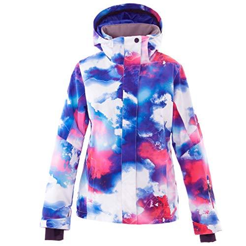 HSYD snowboardjack voor dames, ski, warm, winterjas, outdoor, winddicht, waterdicht voor de winter
