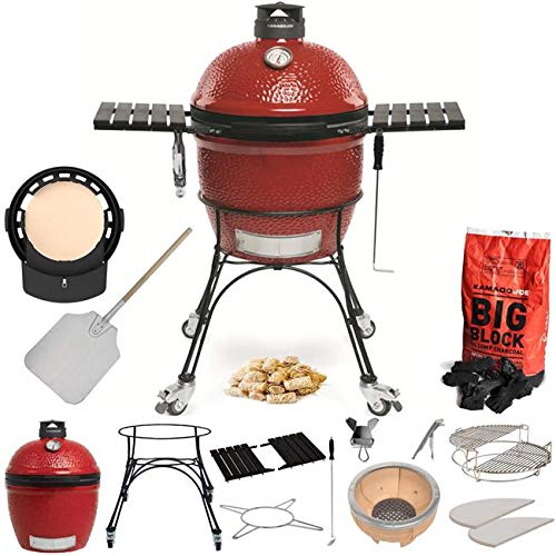 Kamado Joe Classic II Pizza Lovers Ultimate Package. BBQ Grill | DoJoe | Pizza Paddle All Included