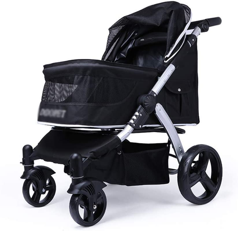 Qingbaotong Dog All items in the store cot Pet New for Bargain Foldable Stroller Cart