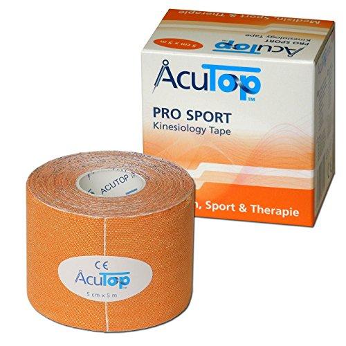 AcuTop PRO SPORT Kinesiology Tape, 5 cm x 5 m, orange