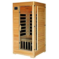 1-2 Person Hemlock Infrared Sauna by Radiant Saunas