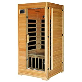 HEATWAVE BSA2402 1-2 Person Hemlock Carbon Infrared Sauna