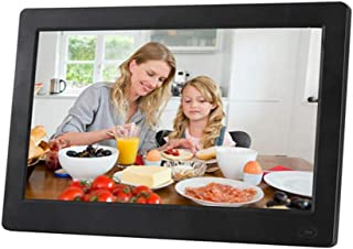 Motion Sensor 13.3In IPS Display Supported Background Music 1080P Video USB SD Solt Photo Frame,White WW/&C Digital Picture Frame
