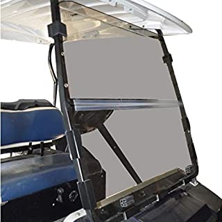 Club Car DS 2000.5 to Current Tinted Fold Down Impact Resistant Windshield for CC DS 2000.5 to Current Golf Cart