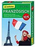 PONS All Inclusive Französisch: Der Sprachkurs für Anfänger mit Buch, 120 Minuten Audio-Training, Vokabeltrainer-App und Reise-Sprachführer (PONS All inclusive Sprachkurs) -