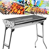 LXVY <span class='highlight'>Barbecue</span> <span class='highlight'>Stainless</span> <span class='highlight'><span class='highlight'>Steel</span></span> Foldable Portable-<span class='highlight'>Stainless</span> <span class='highlight'><span class='highlight'>Steel</span></span> Charcoal <span class='highlight'>barbecue</span> grill