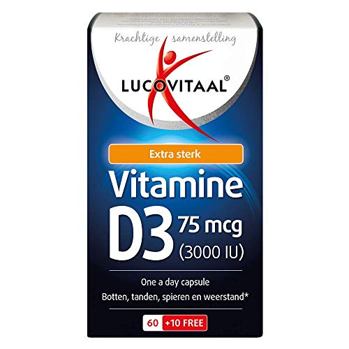 Lucovitaal Capsules Vitamine D3 75mcg
