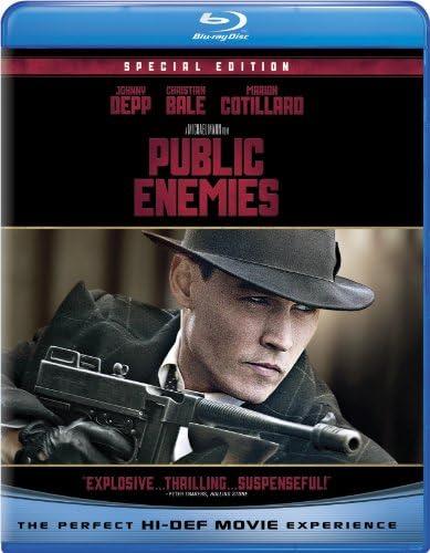 Public Enemies Blu ray product image