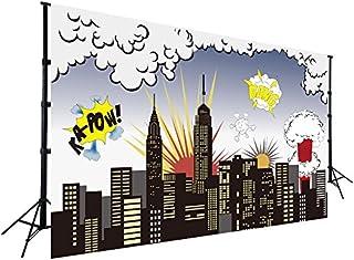 Super City Hintergrund für Baby Kinder Geburtstag Party Fotografie Bilder Wanddekoration Vinyl Hintergrund Event Dekorationen W 511
