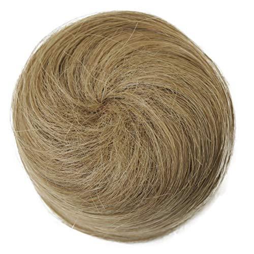 Prettyshop Chignon danseuse, type chouchou, 100 % cheveux naturels