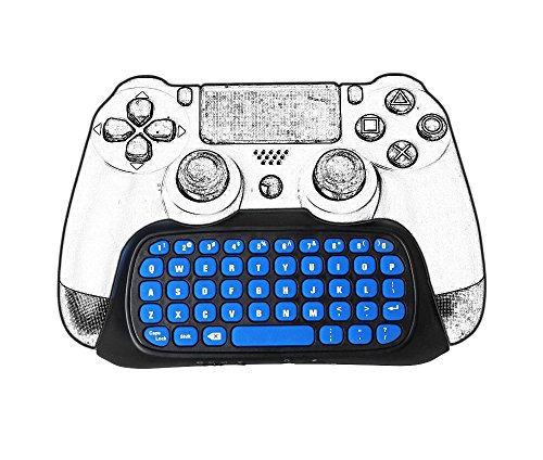 Number-One PS4 Mini Wireless Chatpad Gamepad Game Controller Message...
