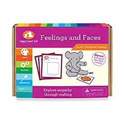 feelings and faces - explore empathy through crafting