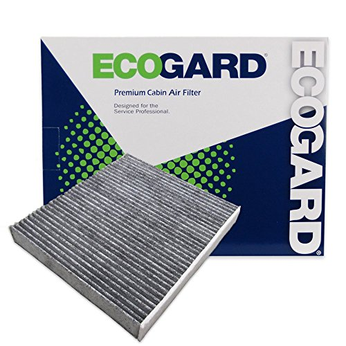 ECOGARD XC10218C Premium Cabin Air Filter with Activated Carbon Odor Eliminator Fits Lexus GS350 2013-2019, IS250 2014-2015, IS350 2014-2019, IS300 2017-2019, IS200t 2017, RC200t 2017