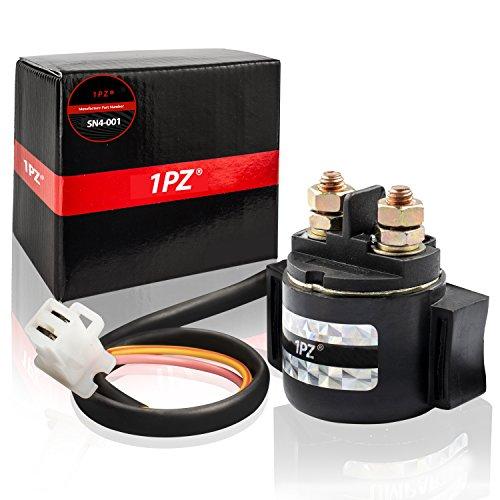 1PZ SN4-001 Starter Solenoid Relay Replacement for Honda 300 Fourtrax TRX300 TRX300FW 2X4 4x4 1988 1989 1990 1991 1992 1993 1994 1995 1996 1997 1998 1999 2000 35850-HC4-000