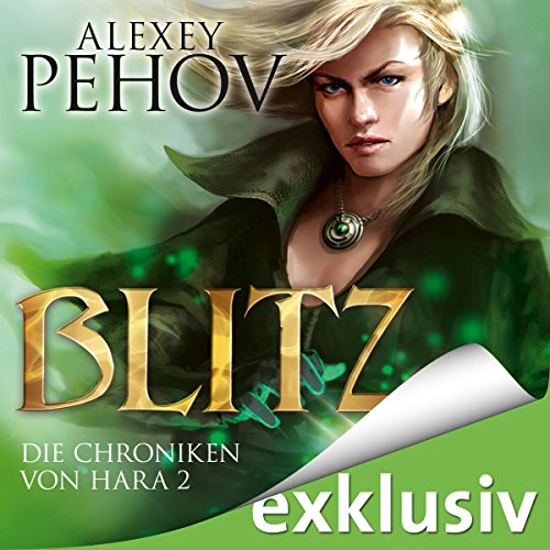 Blitz audiobook cover art