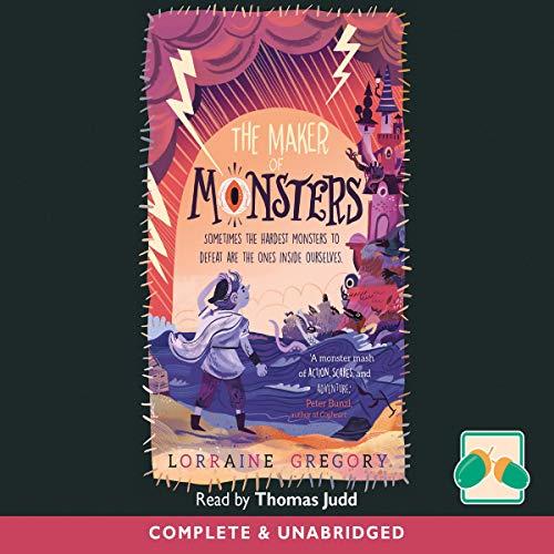 The Maker of Monsters cover art