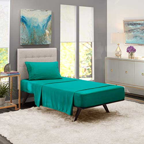 teal sheets twin - 5