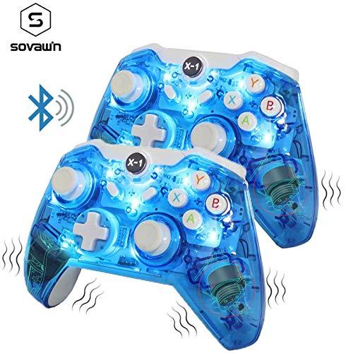 Bluetooth Wireless Gamepad Controller,2.4G Wireless Gamepad, Für Microsoft für Xbox One Vibration Controller Remote Joystick für PC Windows 7 8 10