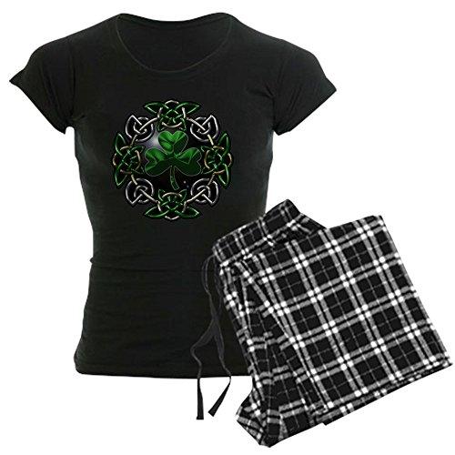 CafePress St. Patrick's Day Celtic Knot Womens Novelty Cotton Pajama Set, Comfortable PJ Sleepwear