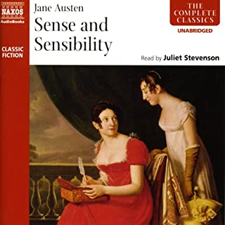 Sense and Sensibility                   By:                                                                                                                                 Jane Austen                               Narrated by:                                                                                                                                 Juliet Stevenson                      Length: 12 hrs and 43 mins     657 ratings     Overall 4.7