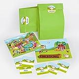 10 Einladungskarten Kindergeburtstag Bauernhof incl. 10