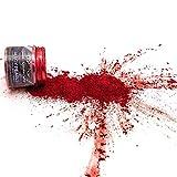 KandyDip Effektpigment Carbon RED Aluminium Pearl Perlglanz Metallic Farbpulver Pigment für...
