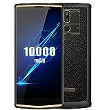 OUKITEL K7 Pro (2019) Smartphone 4G con Batteria da 10000 mAh, Display HD + da 6.0 Pollici, MT6763 Octa Core 2.0GHz 4GB RAM 64GB ROM, Android 9.0 DUAL SIM, 13MP + 2MP + 5MP Tripla fotocamera Oro