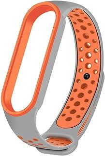 Akemaio Sostituzione del Braccialetto del Cinturino in Silicone per Xiaomi Mi Band 5 Bracciale Regolabile per Xiaomi Mi Ba...