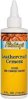 Fiebing's Leathercraft Cement, 4 oz - High Strength Bond for