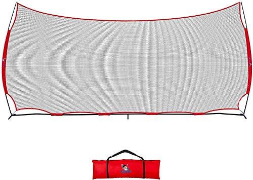 ANYTHING SPORTS 20x10ft Sports Net | 200 SQ feet of Protection | Multi Sport Netting Barrier, Sports Net, Baseball Netting...